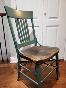 Great wooden chair, $10