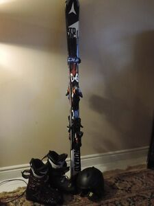 2016 Atomic Skis, Boots, Helmet