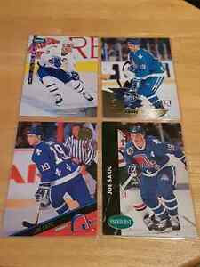 Joe Sakic 4 card lot  Kitchener / Waterloo Kitchener Area image 1