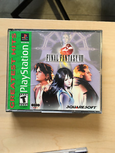 Final fantasy VIII Jeux Playstation 1 Game 25$