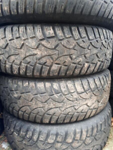 R16 225-70 WINTER TIRES