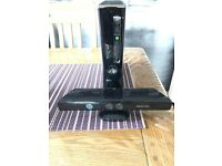 Xbox 360 + Kinect Perfect Condition with games. **QUICK SALE**