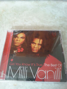 Milli Vanilli CD Girl You Know It's True CD new sealed