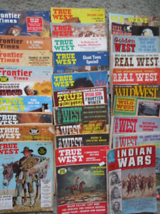 Looking for Frontier times or True west magazines