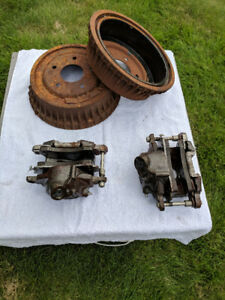 Brake Drums, Calipers, and Rotors