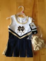 Adidas ND cheer leader outfit