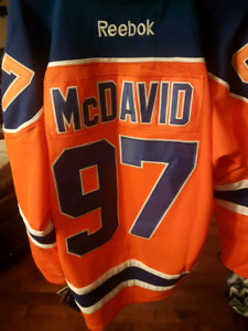 Mcdavid jersey
