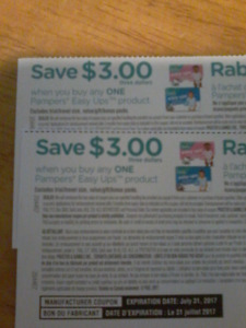 2× $3 off pampers pull ups trade for formula samples