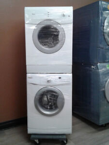 """24"""" SET WASHER/DRYER WHIRLPOOL  FRONT LOAD WHITE"""