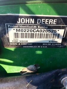 JOHN DEERE 220C green mower West Island Greater Montréal image 3