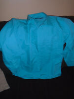 BLUE Shirt Angelo  Size  XXL   10$ Excellent condition , too sma