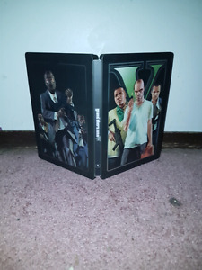 GTA V Day 1 Collectors Edition with steel case for Xbox 360