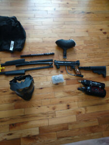 Paintball gear COMPLETE SET