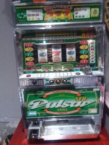 Rare Pulsar Slot Machine - authentic.