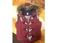 Women's small superdry bodywarmer, worn once, excellent condition