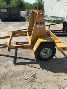 Utility Reel Trailer For Sale Or Rent / Heavy Duty / 1 Available