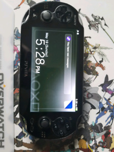 Psvita with charger