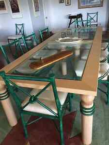 Large dining room or board room table