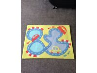 Immaculate Next cars rug £15
