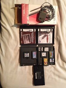 Nintendo DS Lite (red) 10/10 condition with 8 games Kitchener / Waterloo Kitchener Area image 7