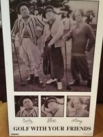 3 Stooges golf picture