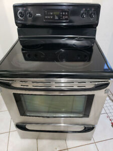"""Kenmore 30"""" glass top stove range oven for sale"""