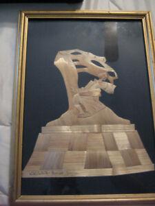 Art piece signed
