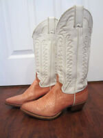 Cowgirl boots WOMANS JUSTIN cowboy boots size 5