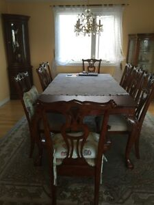 Antic dining table set