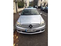 Mercedes C180 BlueEFF Silver Built-In Sat Nav Long MOT