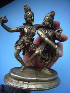 quality old silver metal detailed of ancient eastern dancing Windsor Region Ontario image 3