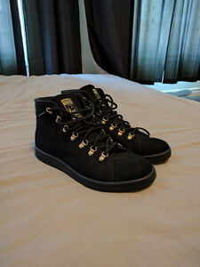 Adidas Stan Smith Winter Boots - Black - Size 10.5