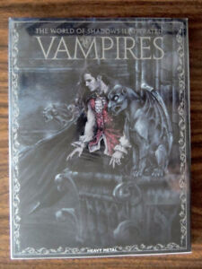 Vampires The World of Shadows Illustrated Hardcover SHINY NEW