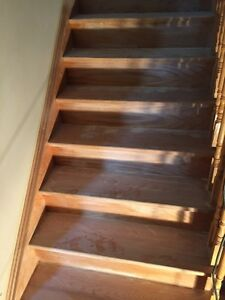 Staircase Refinishing | Stain and Paint Oakville / Halton Region Toronto (GTA) image 2