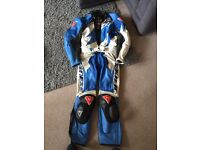 Dainese leathers two piece fully armed with sliders medium 48