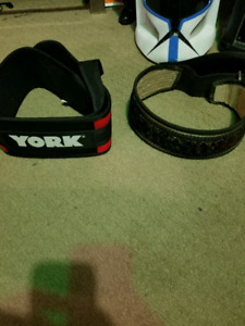 New and used weight lifting belt