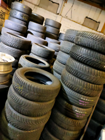 Quality Part Worn Tyres - 175 185 195 205 215 225 235 245 255 265 275