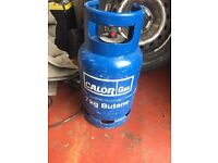 Calor gas bottle 3/4 full