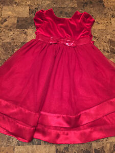 Christmas dress size 5