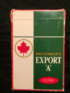 Export A playing cards