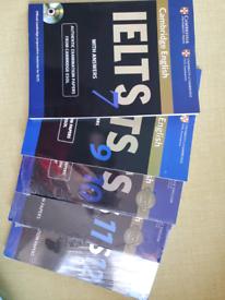 Cambridge academic IELTS 12 book and CD