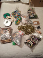 various craft items
