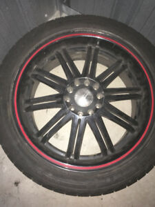 "18"" IKON Rim Wanted or have 3 with Tires for sale"