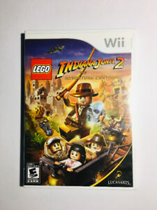 Nintendo Wii Game - INDIANA JONES 2