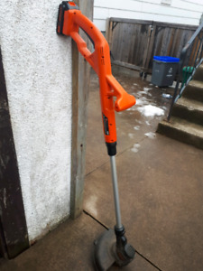 Black and decker 20v weedeater