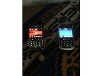 Black berry 9700 & 8900 All networks (£25each)