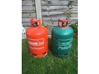 Calor gas bottles / cylinders