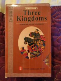 Three kingdoms books