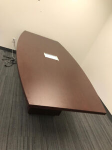 Boardroom Table with Power Outlet