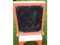 Little tykes chalk board